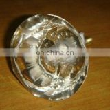 Glass Door knob with Different Color