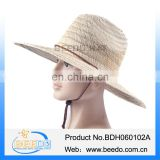 New fashion cheap farmer mat grass men straw fedora hat