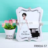 China supplier wholesale fashion love photo frame metal photo picture frame