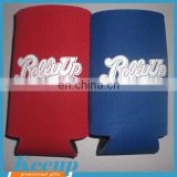 Wholesale Cheap Imprinted Gifts T-shirt Neoprene Beer Cover Bottle Sleeve Holder