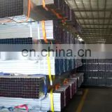 Good quality q195 q235 q345 Iron Pipe 25*50 square schedule 40 rectangular steel pipe