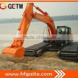 GET210ZX Amphibious excavator equipped with HITACHI excavator heavy construction machinery dredging excavator