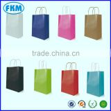 10, 50 Small, Medium, Large Kraft Twist Handle Paper Carrier Bags All Colours                                                                         Quality Choice