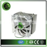 5 heat pipes CPU COOLER for computer porcessor LED lighting