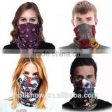 Wholesale Custom Microfiber Polyester Magic Scarf Neck Tube Seamless Multifunctional Bandana