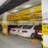 Concrete structure multi level parking system, full auto control car parking system project