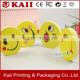 colourful creative writing round sticky note with smiling face printing manufacturer reliable supplier low price