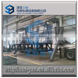 3 axis 40ft Container Trailer Side Loading Hydraulic Crane Installed / Container Side Lifting Trailer                                                                         Quality Choice