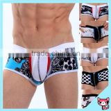 2015 European Printing Style Comfortable Cotton Boxer Wholesale Underwear Cotton Underwear Sexy Men Boxer