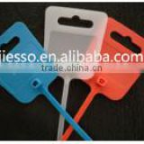 JESUO Cable Tie with Tag Print Cable Tie