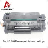 Factory Manufacturer Compatible Toner Cartridge Supplier Q6511A Laser Printer Cartridge for HP Printers bulk buy from china
