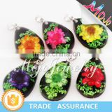 Yiwu Factory Wholesale Elegant Magic Mood Resin Pendant Jewelry for Necklaces and Bracelets