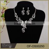 Classical Tide Models Bridal Jewelry Butterfly Crystal Jewelry Set Bridal Wedding Accessory