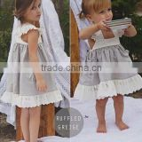 Girls cotton linen dress, kids linen dress, cool summer dress for baby girl,Eco-Friendly dress for kids