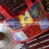 Handmade Patchwork Tote Bag, Hippie Bag, Women Shoulder Bag, Cotton Handbag, Made in India