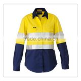 wholesale hi vis workwear shirt safety shirt work apparel