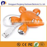 2014 cute animal usb hubs