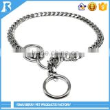 China Wholesale stainless steel 3.0mm*45cm dog collar choke chains