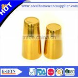 High quality five -star stainless steel copper boston cocktail shaker                                                                                                         Supplier's Choice