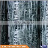 ISO9001 hot dipped galvanized Hinge Joint Boundary Fence Netting High Tensile goat stock fence
