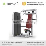 TOPKO Indoor Fitness Gym equipment Body Fit Seated Chest Press Machine