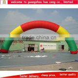 Colorful inflatable archway for sale cheap rainbow inflatable arch for business advertising