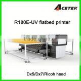 1440dpi CMYK+White UV hybrid printer