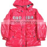 red hooded boys sports jacketjacket