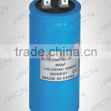 non polar electrolytic capacitor cd60 motor starting capacitor