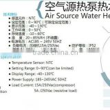 ZL-R100A air source water heater controller universal a/c control system air conditioner remote control
