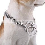 Wholesale dog products 316l stainless steel 13mm big dog welded chain dog training Collars                                                                         Quality Choice