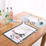 tablemat table cloth Hot selling eco-friendly kitchen promoting custom printed placemats