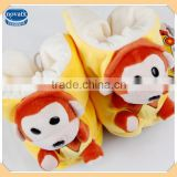 (88005) winter children warm cute shoes Monkey shape baby animal shoes