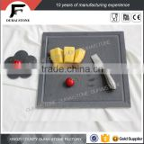Chinese natural slate stone dinner plates wholesale