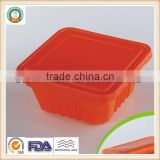 850ml PP Disposable Plastic Heat Resistace Food Storage Container/Lunch Box SGS/FDA Appoval Microwave Oven safe