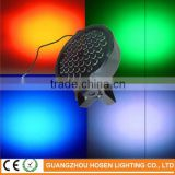 New product cheap stage lighting rgb led flat par light 54pcs*1w wholesale mini led par can light