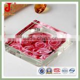 Hot sale Cheap Square Crystal Glass Cigar Ashtray                                                                         Quality Choice