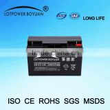 GuangZhou Battery 12v 17ah Rechargeable MF Battery Batteries