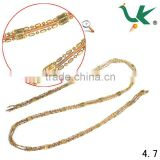 Fashion Round Snake Brass Chain Used for Imitation Jewelry, Custom Jewelry, Garment,Gift and Craft.