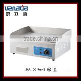 Half Griddle and Half Pan Grill With CE Certification