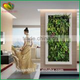 home decoration vertical fake green wall artificial grass                                                                         Quality Choice