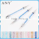 ANY Nail Art Beauty Care Dotting Design Rhinestone 3PCS Nail Art Dotting Tool Set