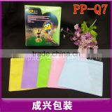 chensin manufacturer sale fabric cd sleeve colorful cd dvd plastic sleeve the best quality famcu cd sleeves