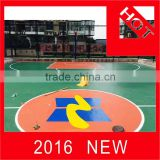 Brand new silicon pu material basketball court floor mat pu stadium made in China