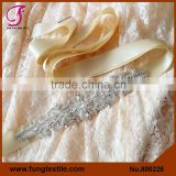 FUNG 800226 Wholesales Wedding Accessories Rhinestone Sash