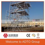 Q345 Used Construction Materials Scaffolding System Type of Layher Ringlock