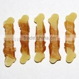 Chicken & yellow calcium bone for Pet Dog snack Dog Treat Training Treat