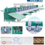 6head multi popurse rhinestone hot-fix embroidery machine