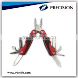 High quality professional fine blanking mini multi tools function of pliers/ outdoor multi combination tools