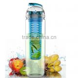 27oz Tritan Fruit Infuser Water Bottle, Multi Color (Light Blue)                                                                         Quality Choice